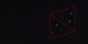 Strange flashing UFO lights caught on camera over Burleson, Texas